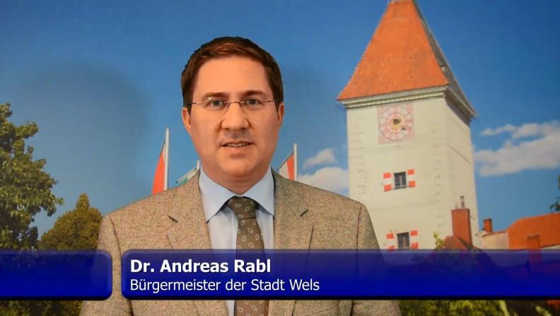 Andreas Rabl, mayor of Wels